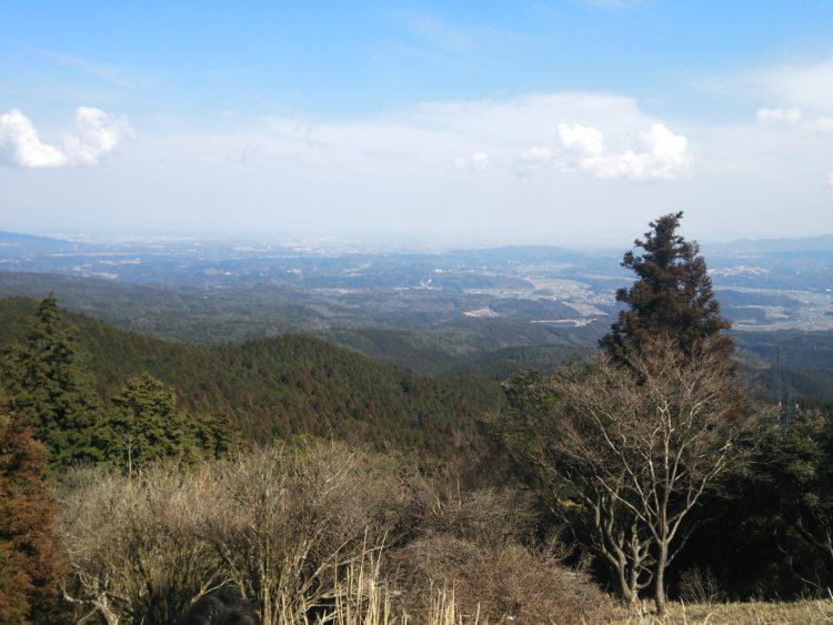 青山高原山頂