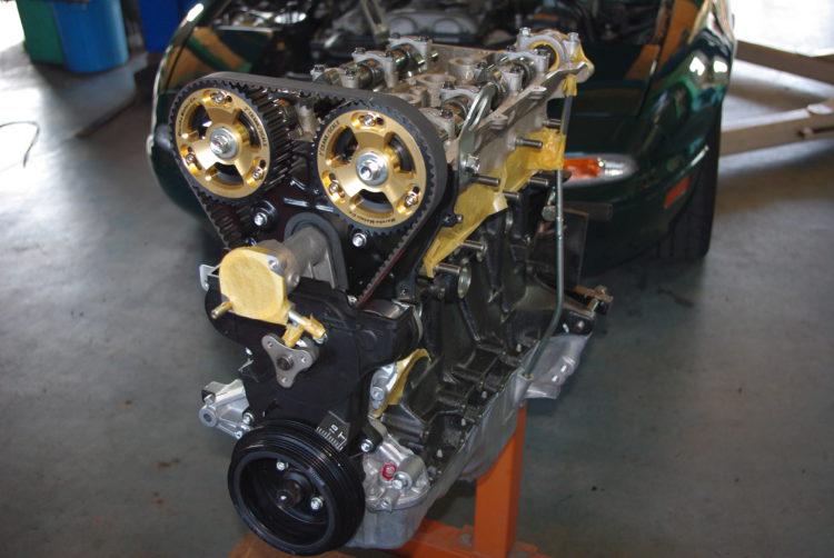 エンジンオーバーホール NA8