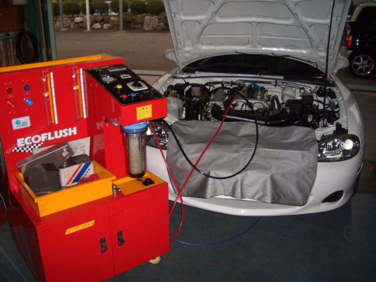 エンジンスラッジクリーン(エンジン内部潤滑系洗浄システム)